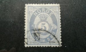 Norway #24a used e203 7527