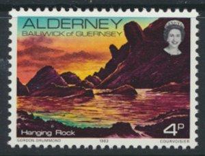 Alderney  SG A2  SC# 2 1983 Definitive  Rocks   MNH  see scan