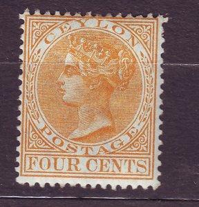 J23630 JLstamps 1883-9 ceylon mh #91 queen wmk 2