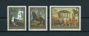 Liechtenstein MNH 660-2 Paintings 1978