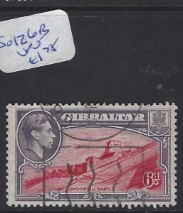 GIBRALTAR (P0504B)   KGVI  6D  SG 126B   VFU