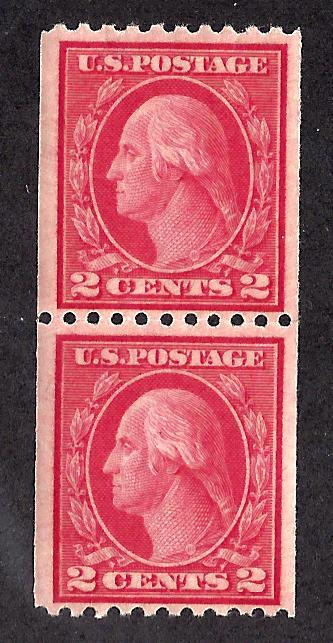 487 Mint,OG,NH... Pair... SCV $65.00