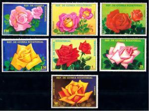 Equatorial Guinea MNH 1573-9 Colorful Roses