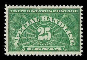 PCBstamps     US QE4 25c Special Handling, 1928, MNH, (5)