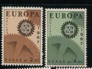 Greece #891-2 MNH (Box1)