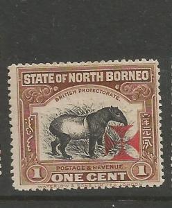 North Borneo SG 202 MOG (5cwt)