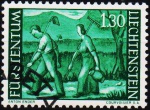 Liechtenstein. 1959 1f30 S.G.390a Fine Used