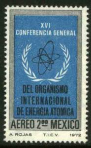 MEXICO C406 Conference of the Atomic Energy Commission MINT, NH. VF.