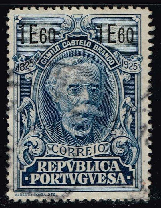 Portugal #369 Camillo Castello-Branco; Used (3.75)