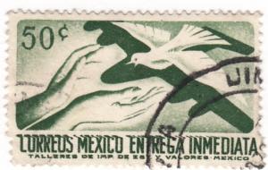 Mexico, Scott # E18(1), Used