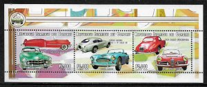Comoro Is #935 MNH S/Sheet - Classic Cars