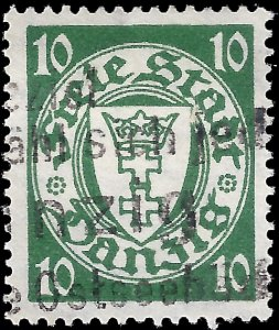 Danzig 1924 Sc 188 U F-VF