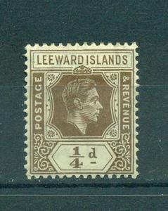 Leeward Islands sc# 103 mh cat value $.40