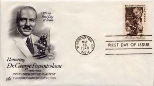 United States, First Day Cover, Medical