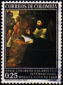 Colombia. 1968 25c S.G.1217 Fine Used