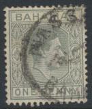 Bahamas SG 150aab Pale Slate  SC# 101 Used / FU  1938+ definitive wmk script