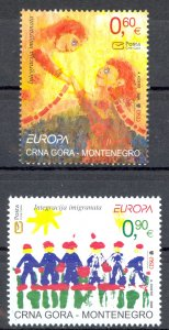 Montenegro Sc# 146-147 MNH 2006 Europa