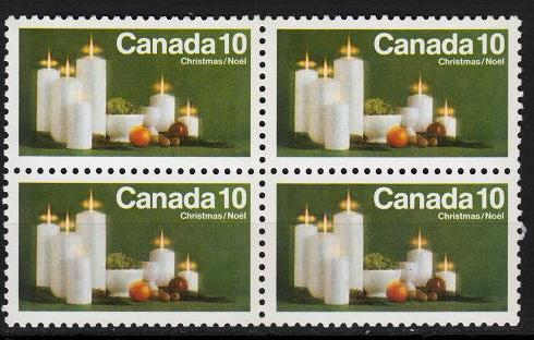 Canada - 1972 10c Candles Tagged Sc# 608p - MNH (4919)