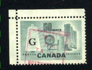 Canada #O38   -5  used  1953-55 PD