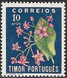 Timor 262 Unused/Hinged - Flowers