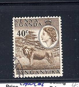 Kenya,Uganda,Tanzania, 109, Lion Single, Used