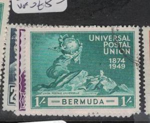 Bermuda UPU SG 130-3 VFU (2dsj)