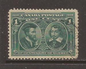 Canada scott #97 used stock #N4561