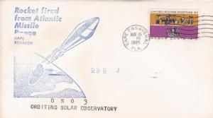 United States 1965 OSO 3 Rocket Launched 25th Aug FDC VGC D