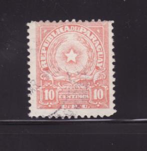 Paraguay 478 U Coat of Arms