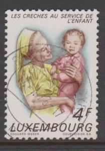 Luxembourg Sc#526 Used