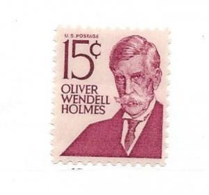 United States, 1288, 15c Oliver Wendell Holmes Single, MNH