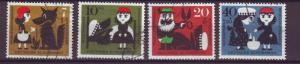 J10309 JL stamps @20% 1960 germany set4 used #b372-5