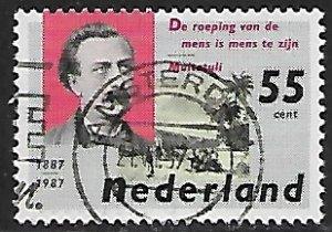 Netherlands # 713 - Edward Douwes Dekker - used....(P12)