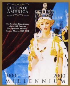 Marilyn Monroe 1926-1962 Queen of America SS Turkmenistan