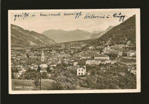 Switzerland 212 on PM 1932 Chur Postcard Used