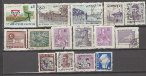 COLLECTION LOT # 4197 KOREA 15 STAMPS 1955+ CLEARANCE CV+$14