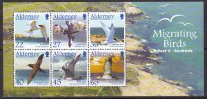 Alderney, Birds MNH / 2003