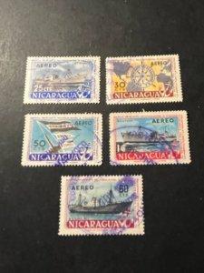 Nicaragua sc C398-C402 uhr