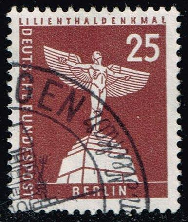 Germany #9N129 Lilienthal Monument; Used (0.45)