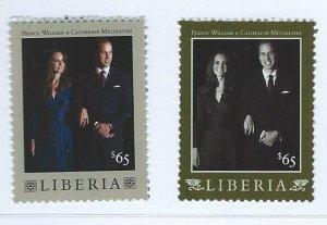 Liberia   mnh  sc #  2704-2705