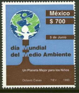 MEXICO 1651 World Environment Day MINT, NH. VF.