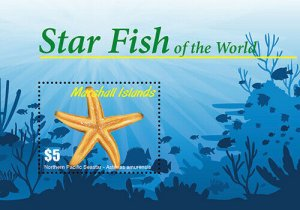 2020/12 - MARSHALL ISLANDS - STARFISH     1V  complet set    MNH ** T