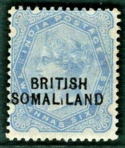 BRITISH SOMALILAND QV Stamp SG.18c 2½d VARIETY (1903) Mint LMM Cat £275 BLUE62