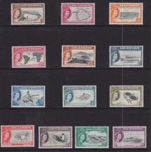 Ascension Scott # 62 - 74 set VF mint never hinged nice color $ 137 ! see pic !