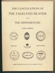 THE CANCELLATIONS OF THE FALKLAND IS by JAMES ANDREWS (SEE BELOW)