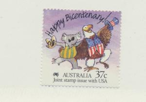 Australia Scott #1052, Mint Never Hinged MNH, Joint Stamp Issue With U.S. For...