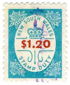 (I.B) Australia - NSW Revenue : Stamp Duty $1.20