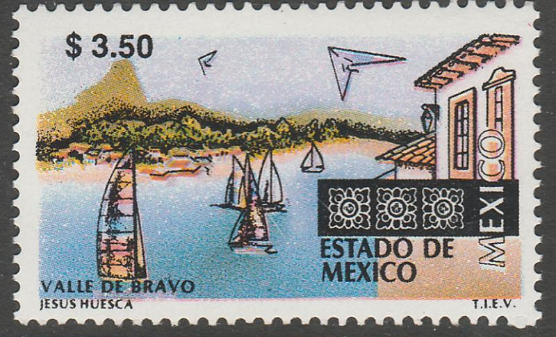 MEXICO 1970 $3.50 Tourism Mexico, Valle de Bravo. Mint, Never Hinged F-VF.