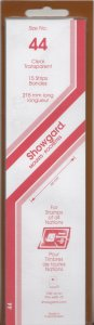 SHOWGARD 215/44 (15) CLEAR MOUNTS RETAIL PRICE $9.75