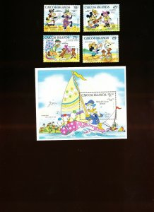 CAICOS ISLANDS - Sc 42.46, VFMNH - DISNEY, EASTER 1984